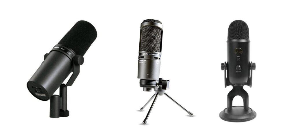 microfono gaming streaming