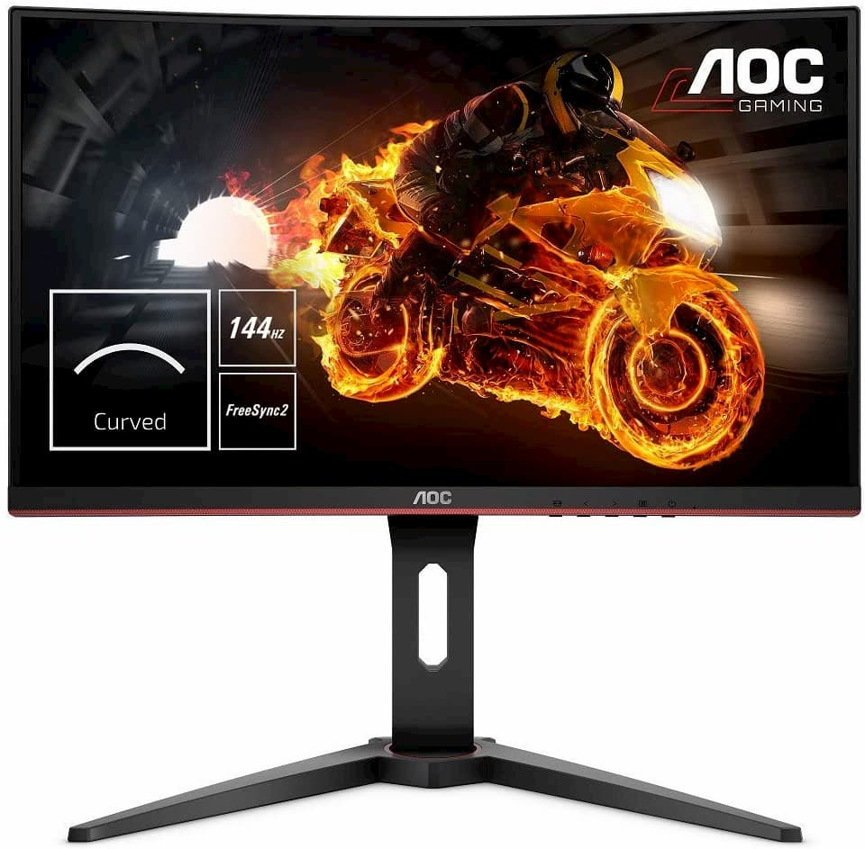monitores curvos para gaming