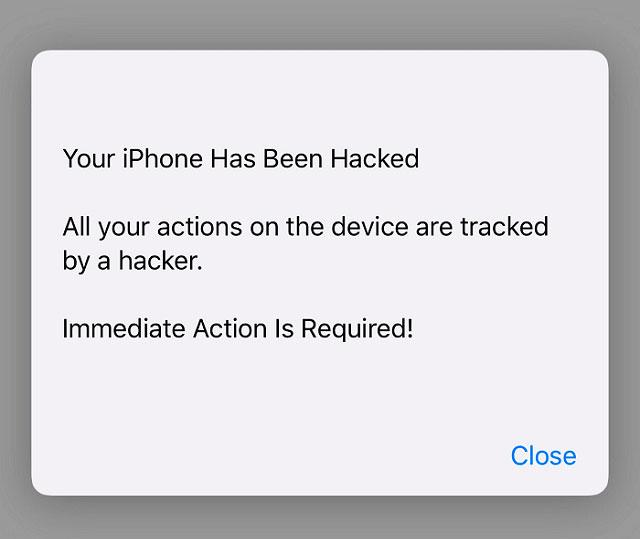 mi iphone tiene un virus