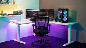 escritorio gaming para streaming