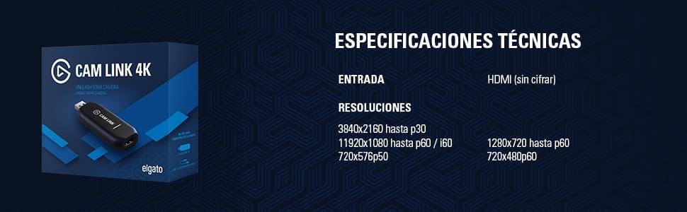 elgato cam link 4k review español