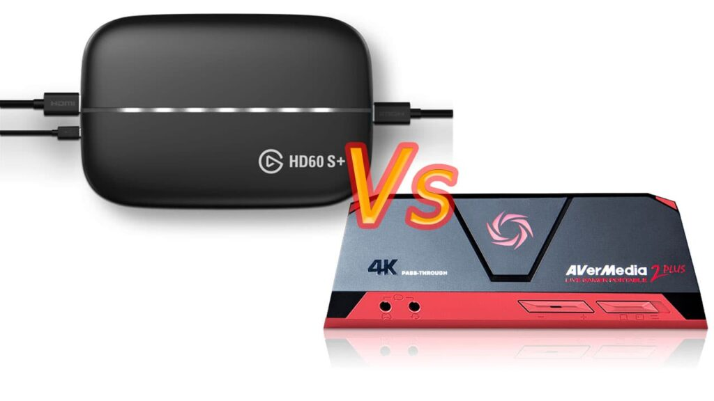 elgato hd60s+ vs avermedia live gamer portable 2 plus