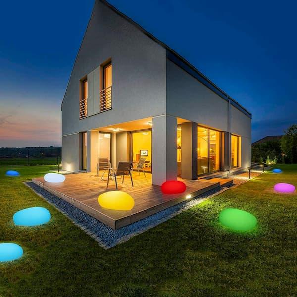 lamparas solares para jardin