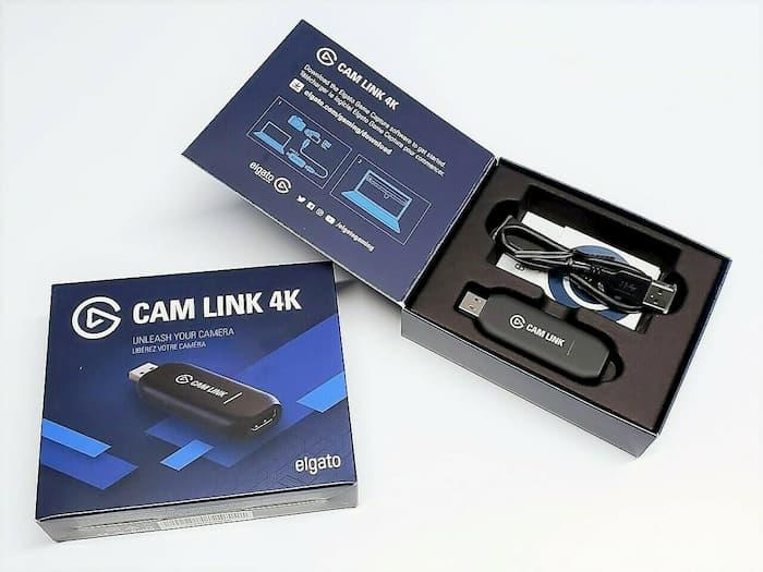 análisis elgato cam link 4k caja