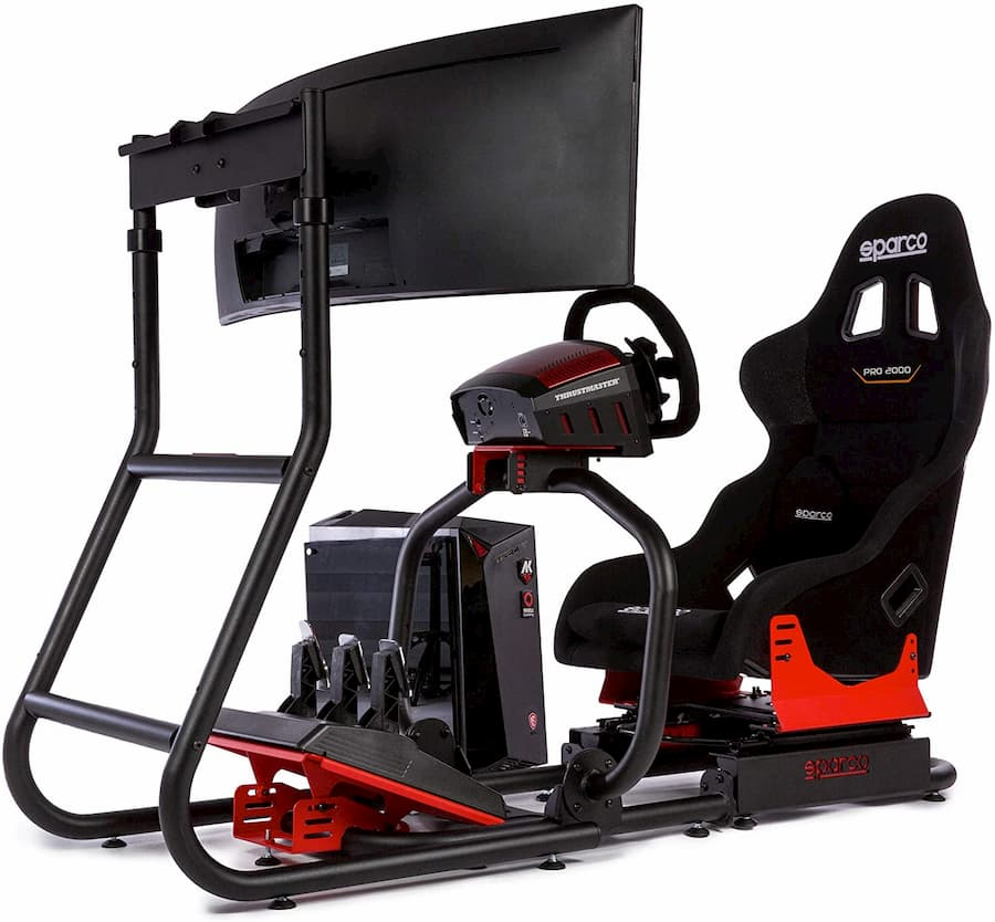 cockpit simracing sparco