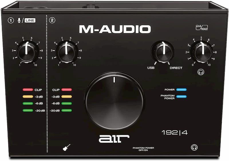 interfaz de audio para streaming