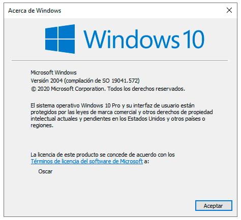que versión de windows tengo
