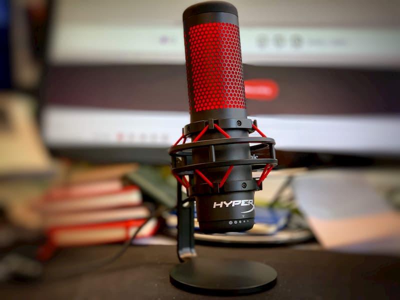 microfono hyperx para streaming