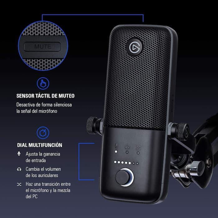 microfono streaming elgato