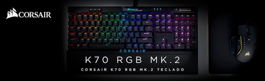 teclado mecanico gaming corsair