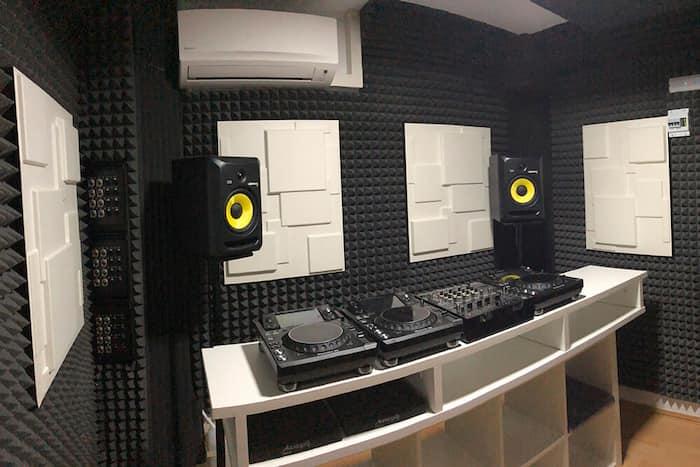 paneles acusticos estudio de grabacion