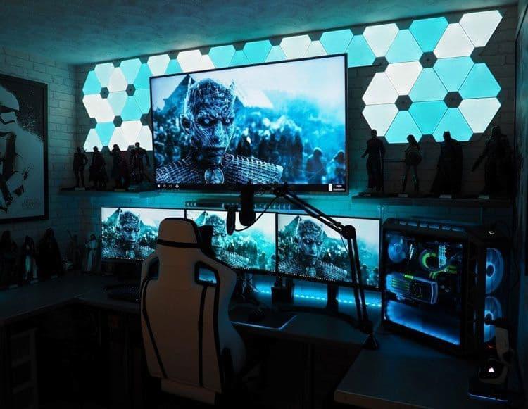 idea set up gamer