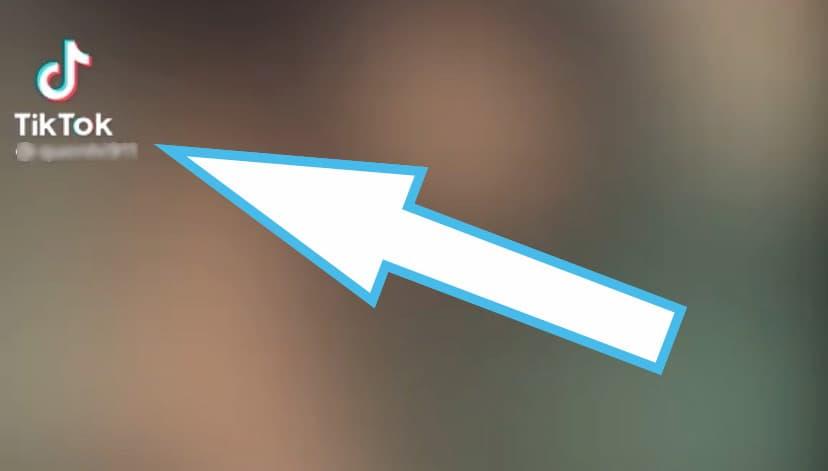 quitar logo de tiktok