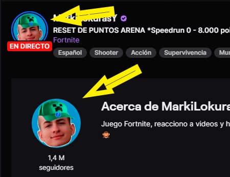 medidas imagen foto de perfil twitch