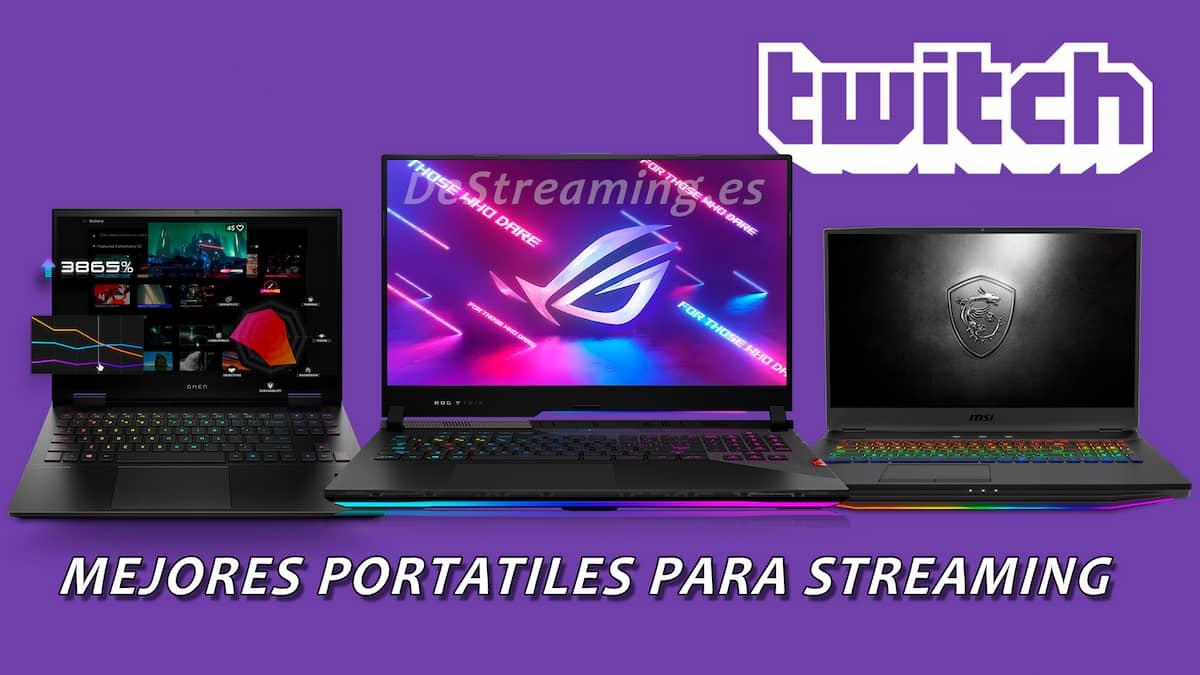mejores portatiles para hacer streaming