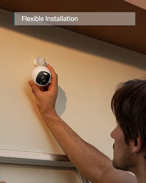 camara de vigilancia exterior wifi para iphone
