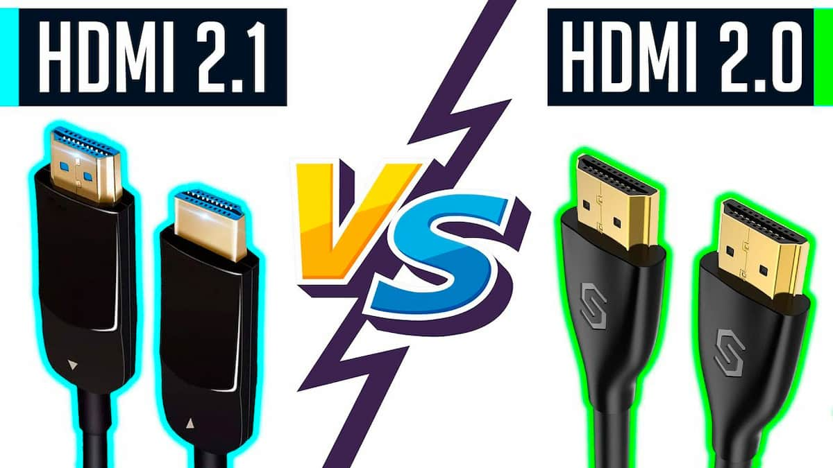 diferencias hdmi 2.1 y hdmi 2.0