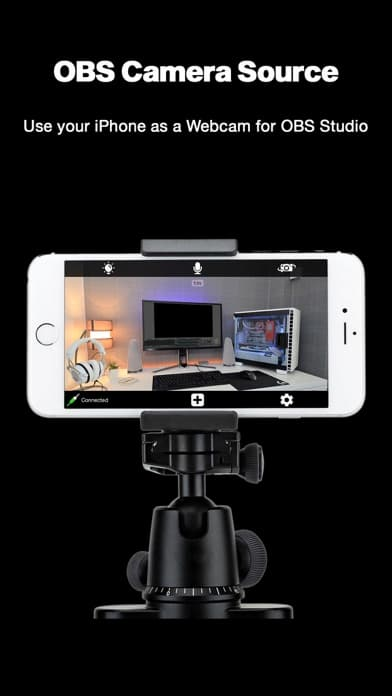 usar iphone como webcam para streaming