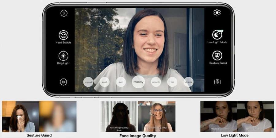 como usar iphone como webcam