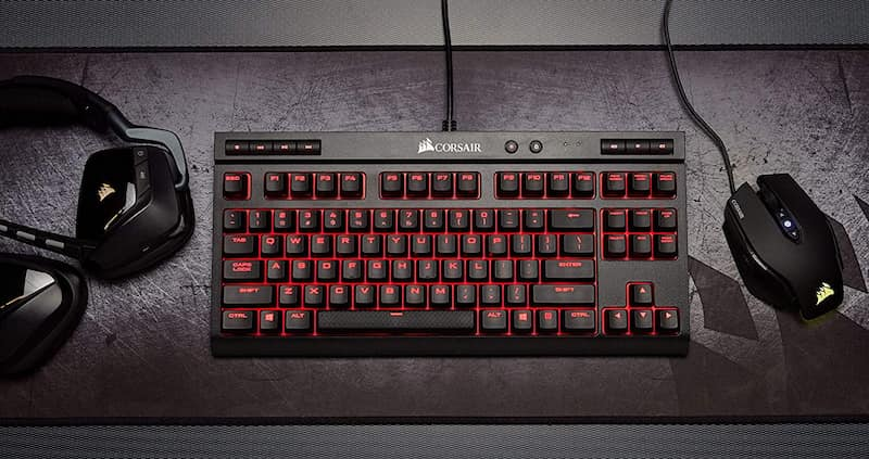 teclado gaming cherry mx red