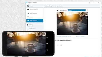 app para usar telefono como webcam