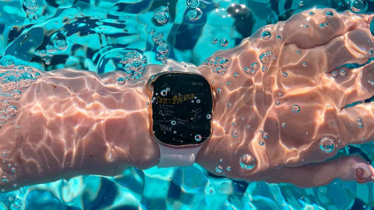 apple watch resistente agua salada