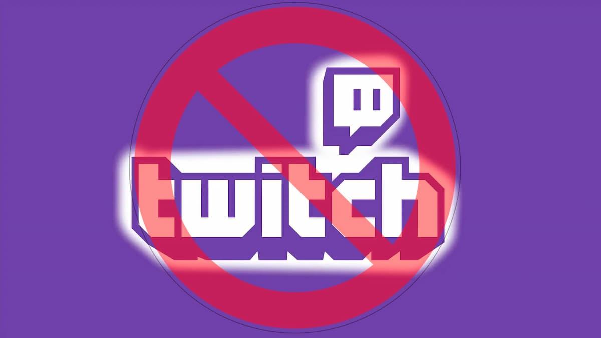 que esta prohibido en twitch