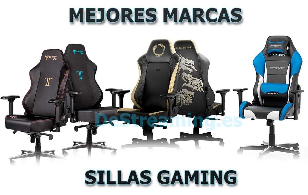 mejores marcas sillas gaming