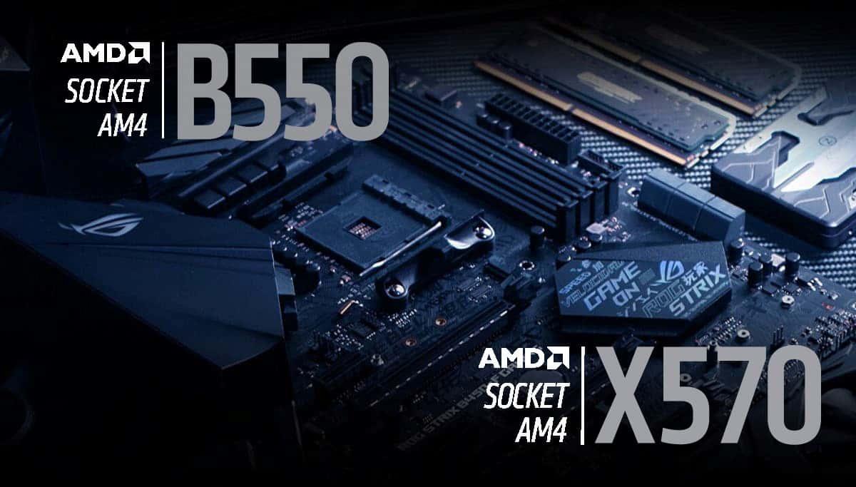diferencias b550 vs x570
